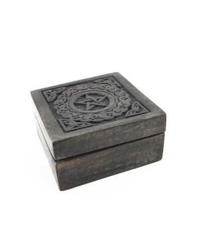 Čarodejnícka drevená krabička