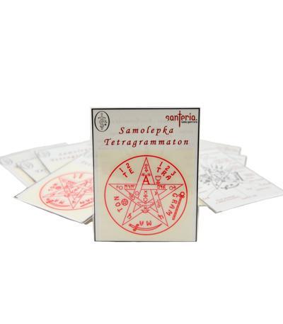 Samolepka Tetragrammaton 10 ks