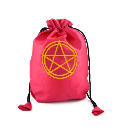 Vrecúško Pentagram ružové