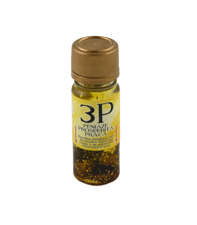 Santerijský olej 3P - Peniaze, práca, prosperita