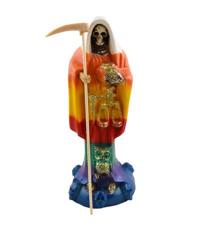 Figúra Santa Muerte 7-farebná