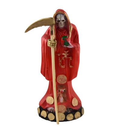 Figúra Santa Muerte červená