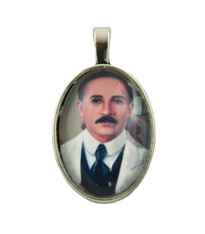 Medailón Gregorio Hernandez, patrón zdravia