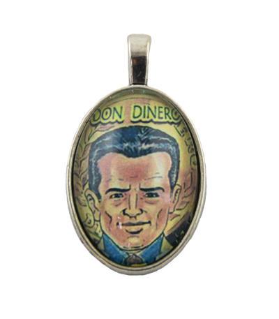 Medailón Don Dinero, patrón peňazí