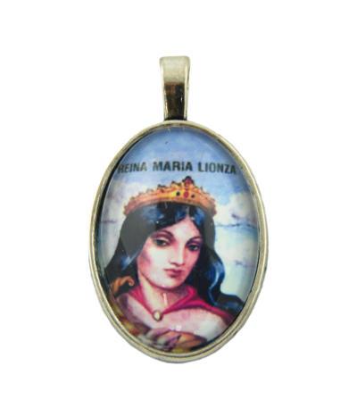Medailón Maria Lionza, patrónka tajných prianí
