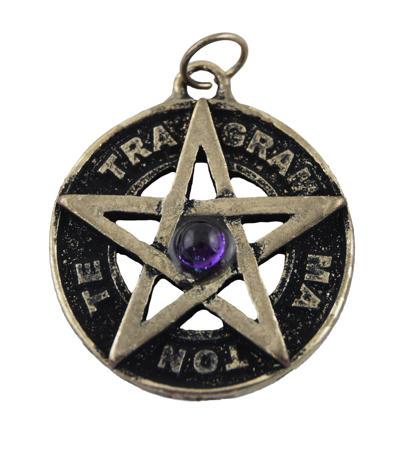 Tetragrammaton s ametystom