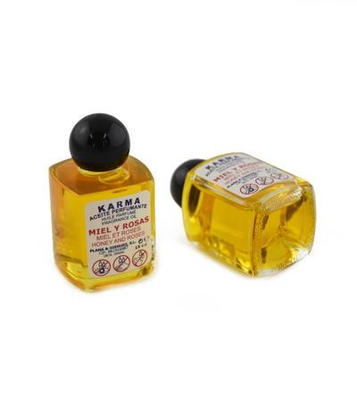 Aróma olej Med a ruža