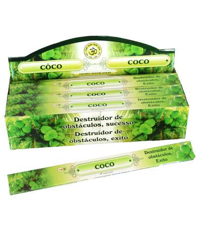 Prírodné vonné tyčinky Kokos