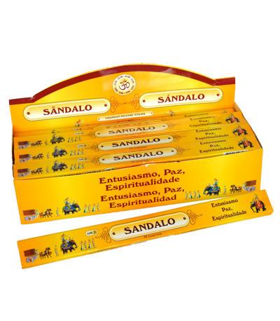 Prírodné vonné tyčinky Santal