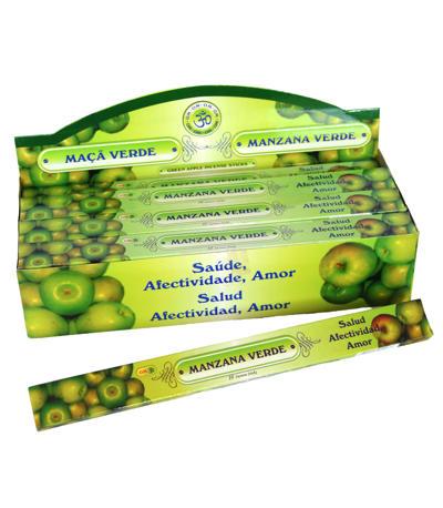 Prírodné vonné tyčinky Zelené jablko